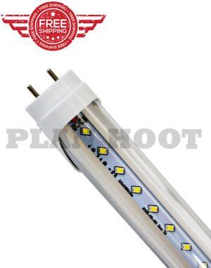 T8 LED Tube Light G13 4FT 20W 6500K Fluorescent Replacement Stripped Lens BULB