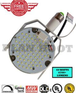 60 Watt LED RetroFit Kit