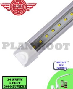 T5 5 Feet Integrated Clear 24W