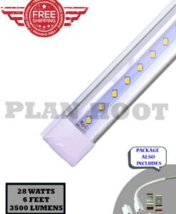T8 6 Feet Integrated Clear 28W