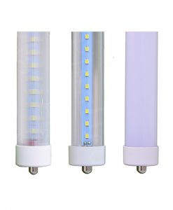 LED Single Pin Tube Lights FA8 Ends
