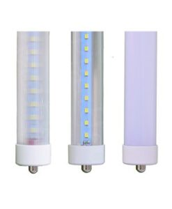 LED Single Pin Tube Lights FA8 Ends