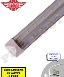 7500 Lumens, 8 Feet Integrated V Shaped