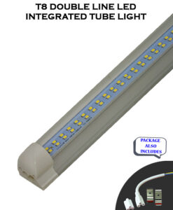 T8 Integrated 8FT 60W Double Line ET Listed LED Tube Light