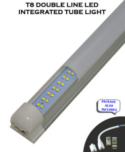 4 FT 36WT T8 Integrated Double Line 5000 Lumens LED Tube Lights
