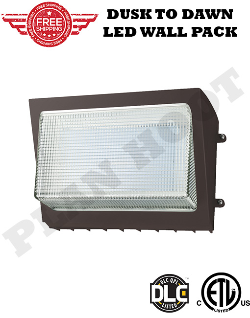 Led Wall Pack 135w Etl Dlc Certified With Dusk To Dawn