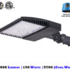 150 Watt LED Shoebox Light