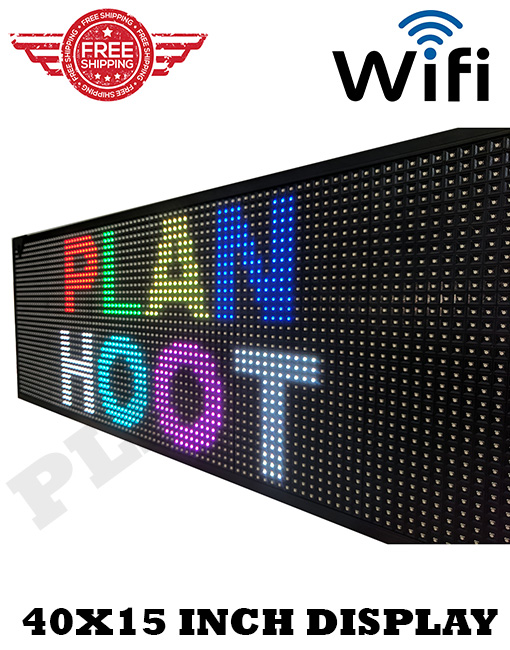 ~ANY SIZE~ P10 Programmable FULL COLOR LED Scrolling Sign Display Panel Message