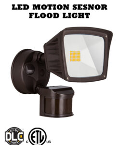 LED Flood Light with Motion Sensor