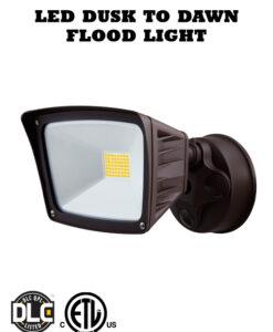 40 Watt LED Security Flood Light with Photocell Dusk to Dawn Sensor
